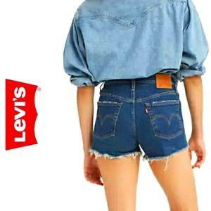 Levi's 550 Vintage 90s Cut Off Jean Shorts Size 16